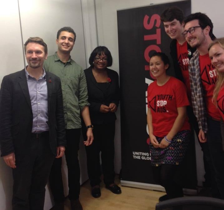 Our new STOPAIDS Youth Trustee