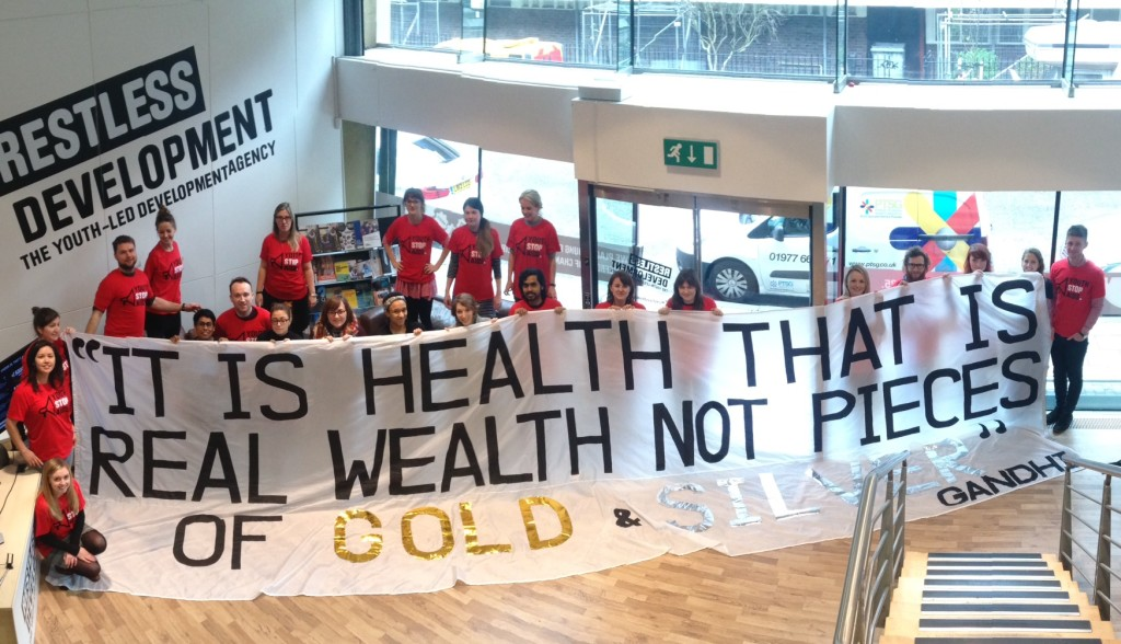 'It is health that is real wealth not pieces of gold and silver' Ghandi